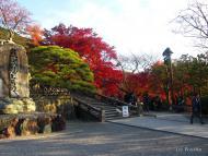 Kjóto, před chrámem Kijomizu-dera