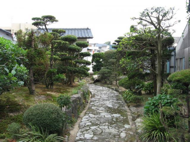 Zahrada ve Fukuoce